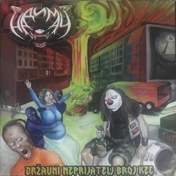 [Review]Nadimač(Надимач) – Državni neprijatelj broj kec (セルビア/スラッシュメタル)