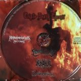 [レビュー]Sacramental Blood / Heretical Guilt / Blasphererion – Triple Death Threat (セルビア/デスメタル・スプリット盤)