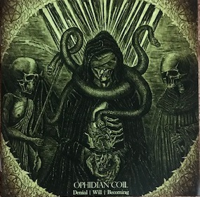 [レビュー]Ophidian Coil – Denial | Will | Becoming (セルビア/ブラックメタル)