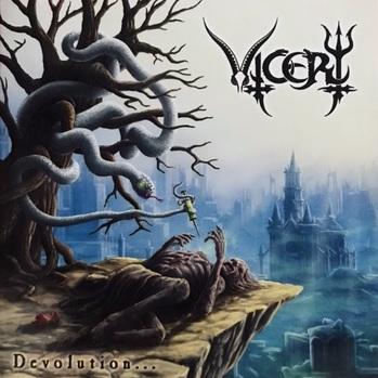 [レビュー]Vicery – Devolution… (セルビア/デスメタル)
