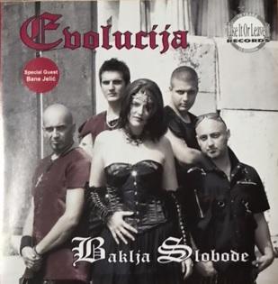 [レビュー]Evolucija – Baklja slobode(セルビア/フィーメイル・ゴシックメタル)