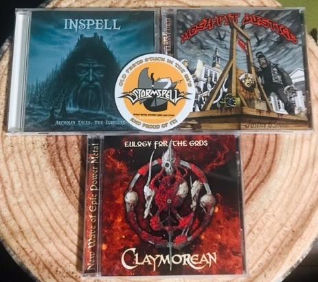 [海外通販記]Stormspell RecordsからClaymoreanの新作をお取り寄せ・無事届くのかやってみた[第10弾]